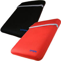 "View Item iGadgitz Red/Black Reversible Neoprene Sleeve Case Cover For 12"" Netbook"